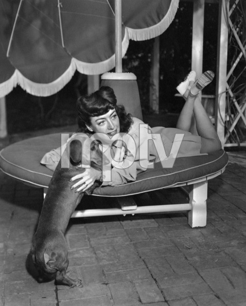 Joan Crawfordat home in Los AngelesC. 1945 - Image 0728_0827