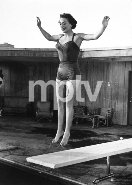 Joan Crawford at home, 1950 - Image 0728_2173