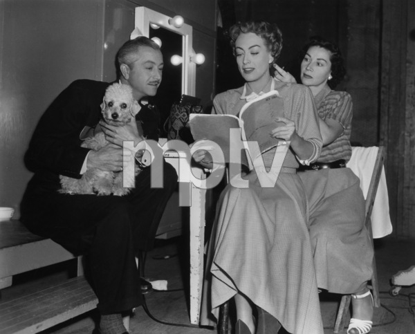 """Joan Crawford and Robert Young on the set of """"Goodbye, My Fancy""""1951 - Image 0728_2203"""
