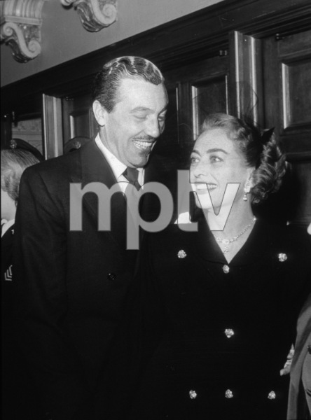 Joan Crawford and Cesar Romero, c. 1959.**I.V. - Image 0728_8294