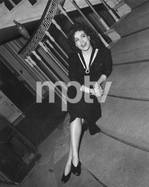 """Joan Crawford on the set of """"They all Kissed the Bride"""" 1924 Columbia **I.V. - Image 0728_8307"""