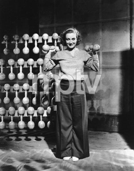 Joan Crawford Lifting Dumbells and WeightsMGM, 1933**I.V. - Image 0728_8320