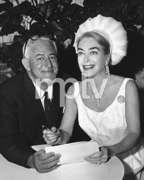 Joan Crawford with William Castle1964**I.V. - Image 0728_8331
