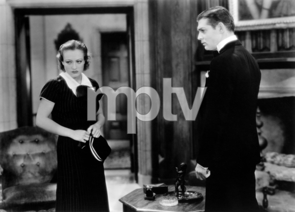 "Joan Crawford and Clark Gable in ""Possessed""1931 MGM** I.V. / J.J. - Image 0728_8354"