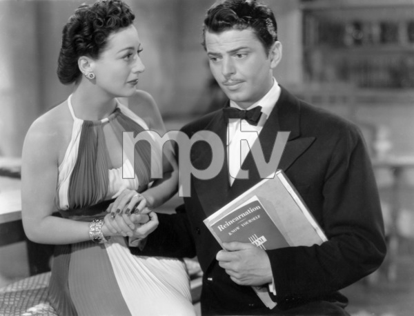 "Joan Crawford and John Carroll in ""Susan and God""1940 MGM** I.V. / J.J. - Image 0728_8355"