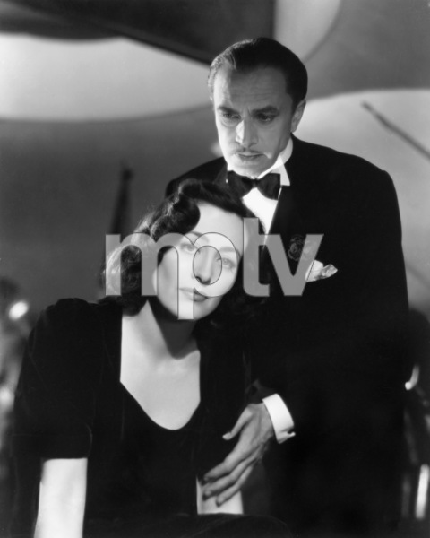 "Joan Crawford and Conrad Veidt in ""A Woman"