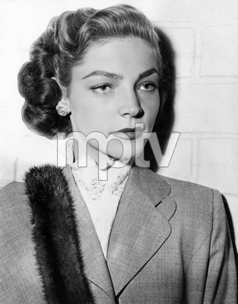 "Lauren Bacall in ""Young Man with a Horn""1950 Warner Brothers** I.V. - Image 0730_0542"