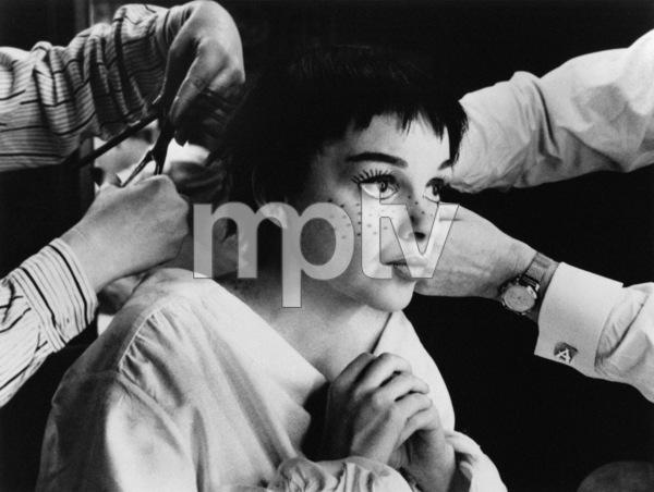 """Judy Garland on the set of """"A Star Is Born"""" 1954 © 1978 Sanford Roth / A.M.P.A.S. - Image 0733_2002"""