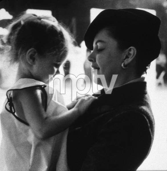 Judy Garland, daughter Lorna Luft © 1978 Bob Willoughby - Image 0733_2060