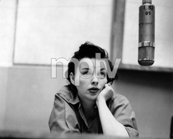 Judy GarlandAt Captiol Records, c. 1957 - Image 0733_2062