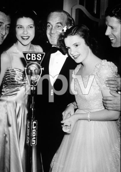 Judy Garland, Al Jolson, and Rudy Vallee.c. 1938.**I.V. - Image 0733_2125