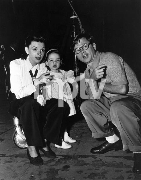 Judy Garland, Liza Minnelli, Mickey Rooneyc. 1948**R.C. - Image 0733_2128