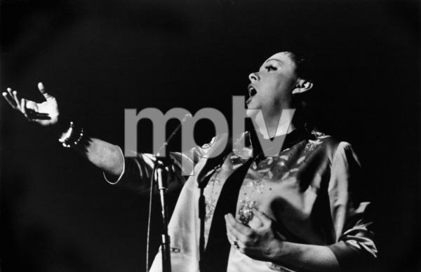 Judy Garland at Carnegie Hall circa 1961 ** R.C. - Image 0733_2134