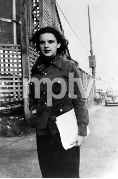 Judy GarlandOn her first day at MGM studios, 1937**R.C. - Image 0733_2157