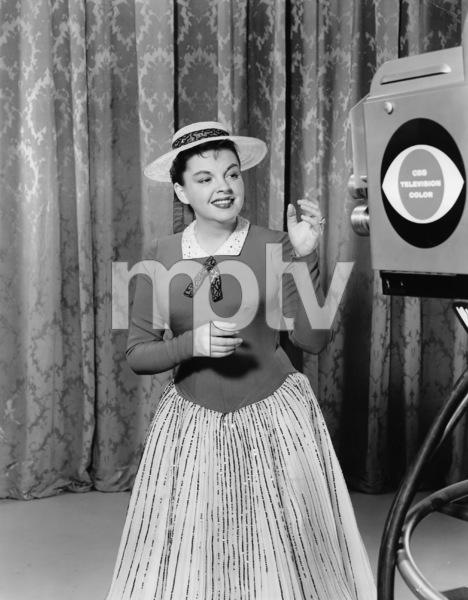 Judy Garland at CBS Studio circa 1955 **I.V. - Image 0733_2181
