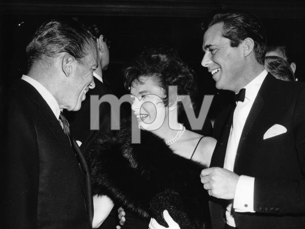 Judy Garland, Dirk Bogarde, Ed Sullivan, at premiere, United Artists, 1963, **I.V. - Image 0733_2182