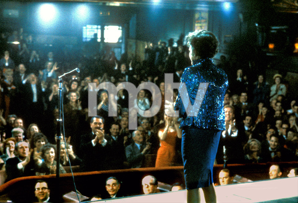 "Judy Garland on stage at the London Palladium when she was filming ""I Could Go on Singing"" 1962 © 1978 Bob Willoughby  - Image 0733_2219"