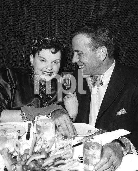 Judy Garland and Humphrey Bogart, 1950