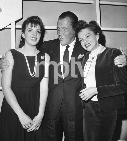 Judy Garland, Liza Minnelli and Ed Sullivan, 1963, I.V. - Image 0733_2235