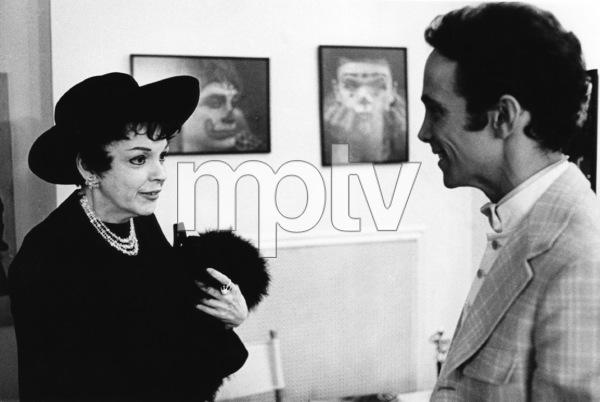"Judy Garland and Joel Grey backstage at ""George III""1968** I.V. - Image 0733_2249"