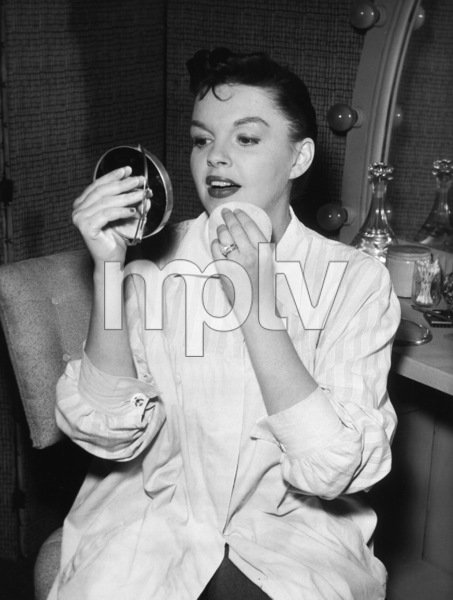 """Judy Garland in between rehearsals for her television debut on """"Ford Star Jubilee""""1955** I.V. - Image 0733_2264"""