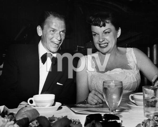 Frank Sinatra and Judy Garland at her testimonial dinner1952** I.V. - Image 0733_2265