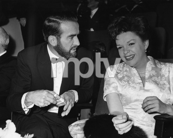"""Judy Garland and Montgomery Clift at """"Judgment at Nuremberg"""" premiere1962** I.V. - Image 0733_2267"""