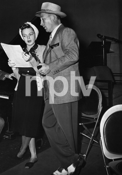 Judy Garland and Bing Crosby on his radio show 1944** I.V. - Image 0733_2276