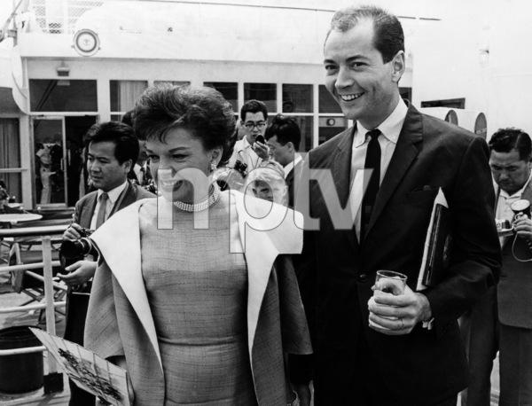 Judy Garland and husband Mark Herron1965** I.V. - Image 0733_2284