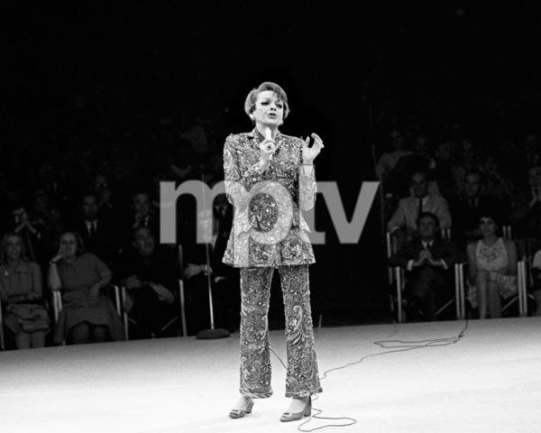 Judy Garland performing at the Westbury Music Fair1967© 1978 Barry Kramer - Image 0733_2302