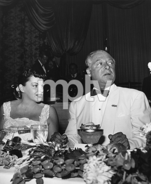 Judy Garland and George Jessel at the Biltmore Hotel in Los AngelesJuly 1952© 1978 Joe Shere - Image 0733_2321
