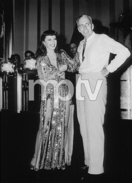 "Barbara Stanwyck and Howard Hawksin ""Ball Of Fire.""1941/Samuel Goldwyn Co.**I.V. - Image 0749_0794"