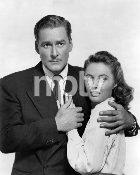 """""""Cry Wolf""""Errol Flynn, Barbara Stanwyck1947 Warner Brothers** I.V./M.T. - Image 0749_0825"""