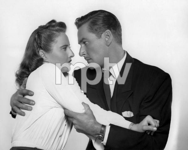 """""""Cry Wolf""""Errol Flynn, Barbara Stanwyck1947 Warner Brothers** I.V./M.T. - Image 0749_0826"""