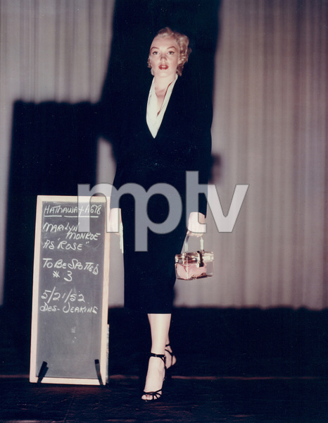"Marilyn Monroewardrobe test for ""Niagara,""taken in 1952 / 20th Century Fox - Image 0758_0032"