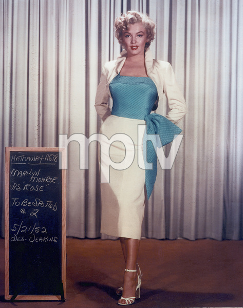 "Marilyn Monroewardrobe test for ""Niagara,""taken in 1952 / 20th Century Fox - Image 0758_0035"