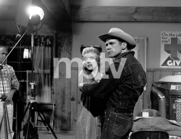 """Marilyn Monroe and Don Murray""""Bus Stop,"""" 1956/ 20th Century Fox - Image 0758_0222"""
