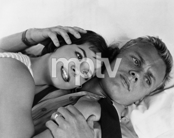 """Natalie Wood with Tab Hunterin """"The Girl He Left Behind,"""" 1956. - Image 0764_0158"""