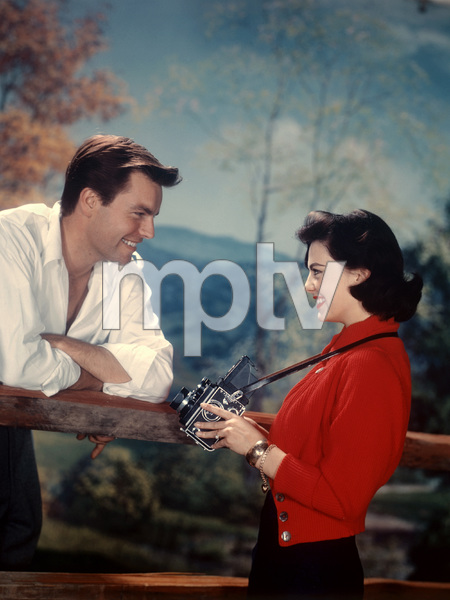 Robert Wagner and Natalie Wood1957 © 1978 Wallace Seawell - Image 0764_0265