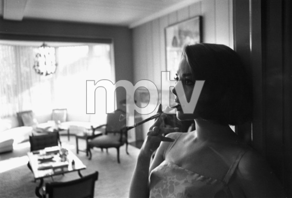 Natalie Wood at home in Bel Air, Ca., 1966. © 1978 Gunther - Image 0764_0274