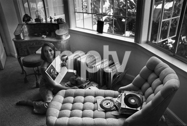 Natalie Wood at home in Bel Air, Ca., 1966. © 1978 Gunther - Image 0764_0275