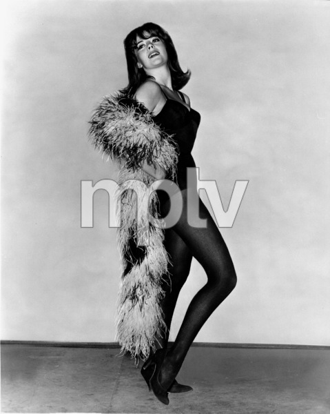 """Natalie Wood rehearses for her role in""""Gypsy,"""" 1962.**J.S. - Image 0764_0284"""