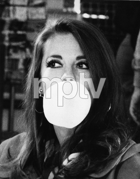 "Natalie Wood during a break in filming ""Bob & Carol & Ted & Alice,"" 1969. - Image 0764_0338"