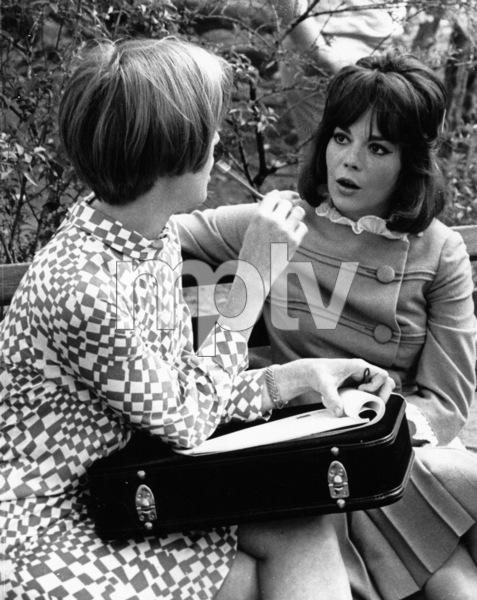 Natalie Wood in Central Park withFood Columnist Johna Blinn, 1966. - Image 0764_0356
