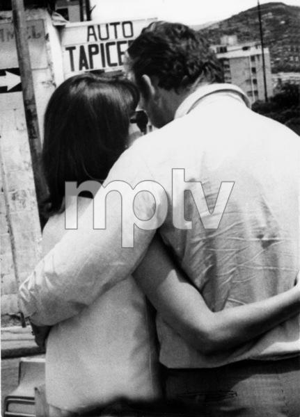 Natalie Wood with fiance Ladislao Blatnick,1965. - Image 0764_0360