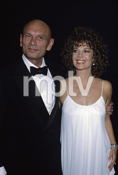 """Natalie Wood and Yul Brynner at """"The 51st Annual Academy Awards""""1979© 1979 Gary Lewis - Image 0764_0449"""