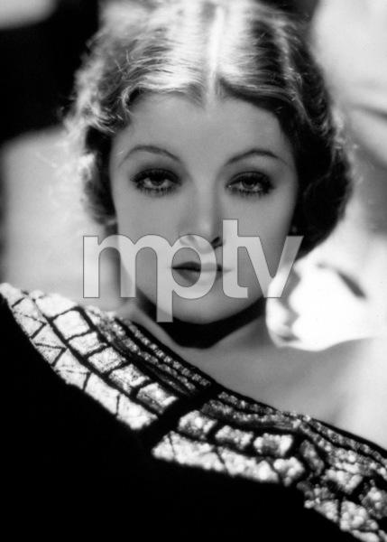 Myrna Loyc. 1932Photo by George Hurrell - Image 0771_0322