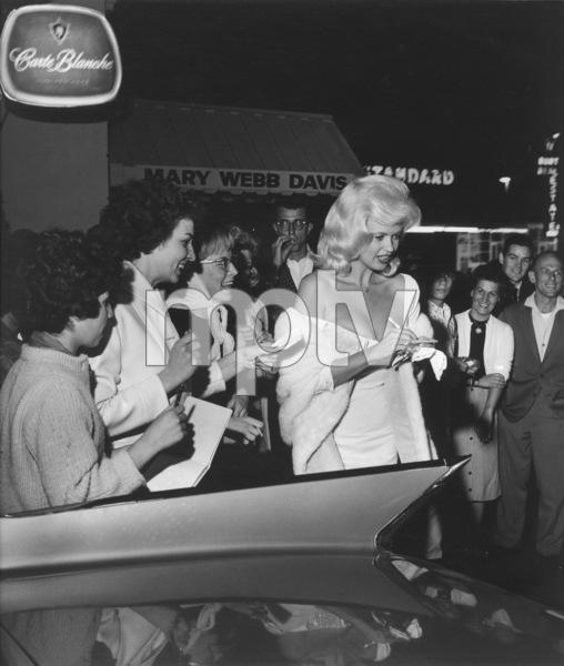Jayne MansfieldIn front of Dino