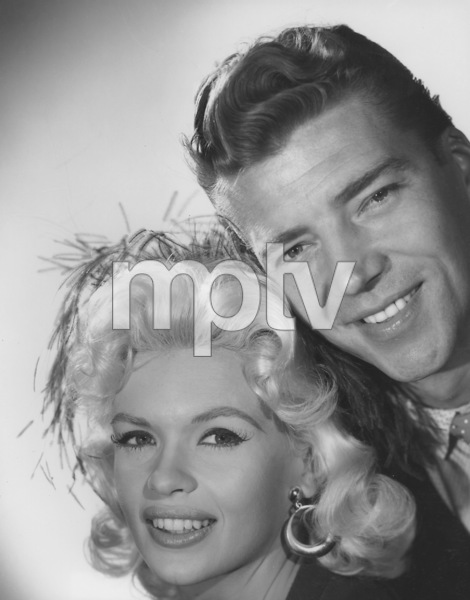 Jayne Mansfield and husband Mickey Hargitay1960 © 1978 Gabi Rona - Image 0774_0013