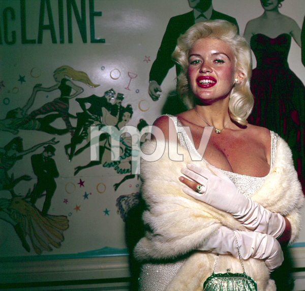 """Jayne Mansfield at """"Can Can"""" Premiere1960 © 1978 David Sutton - Image 0774_0533"""